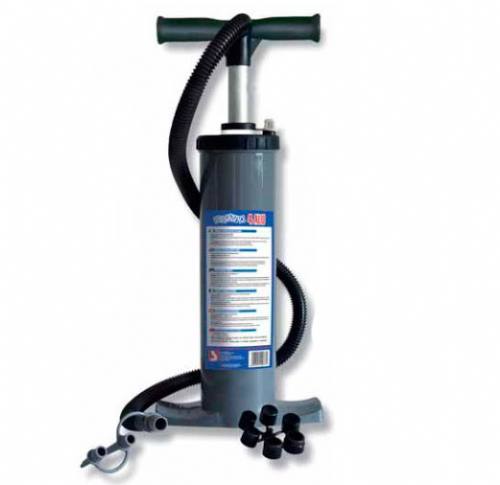 Bravo 4 ALU R.E.D.Kite Double Action Hand Pump 800mbar